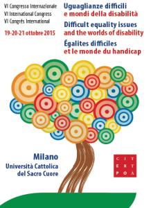 """""""Uguaglianze difficili: i mondi della disabilità"""" Convegno alla Cattolica di Milano"""
