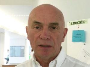 Alain Delarque, francese, presidente Esprm