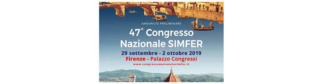 47° Congresso Nazionale SIMFER